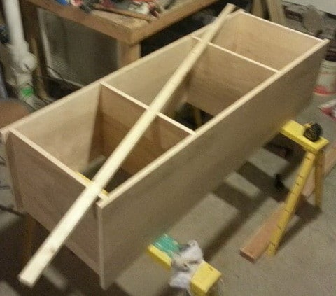 Do It Yourself TV Entertainment Stand_5