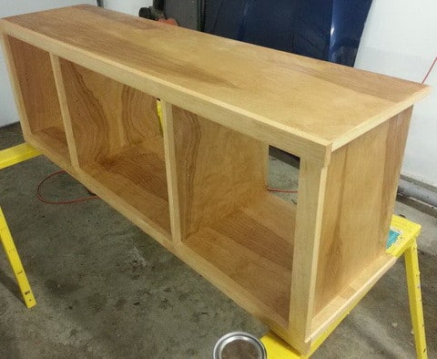 How to build a simple diy tv stand using wood for How to build a stand