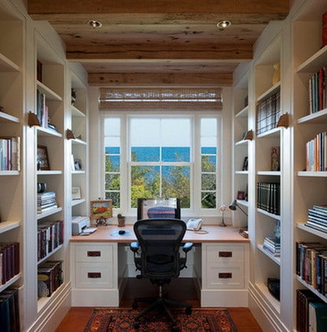 26 home office design and layout ideas for Office layout design ideas