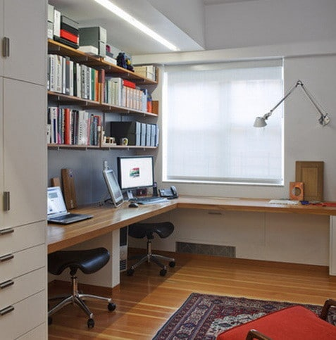 26 home office design and layout ideas for Small home office design layout ideas