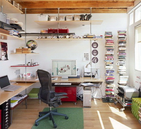 Perfect ... Home Office Design And Layout Ideas_12 ...