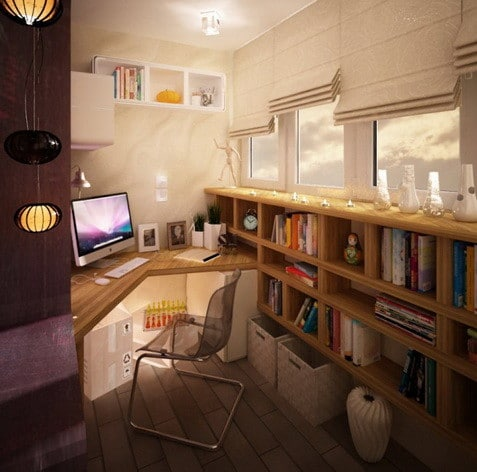 Charming ... Home Office Design And Layout Ideas_14 ...
