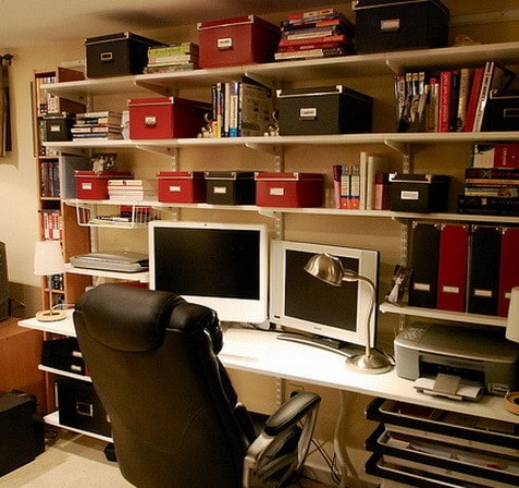 Captivating ... Home Office Design And Layout Ideas_15 ...