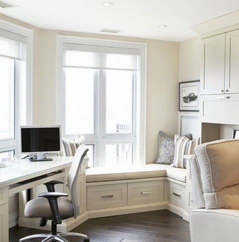 Good ... Home Office Design And Layout Ideas_17 ...