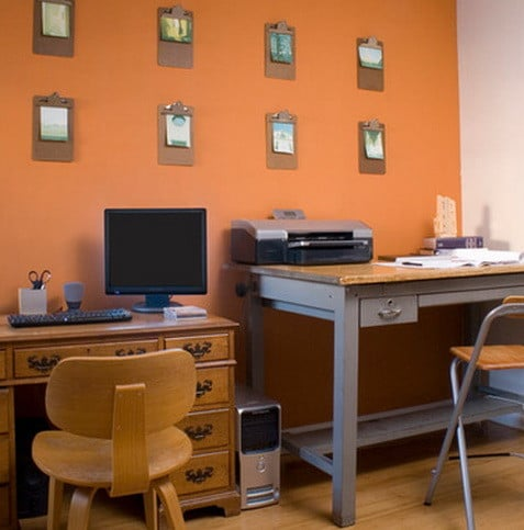 26 home office design and layout ideas us2 for Office arrangement ideas