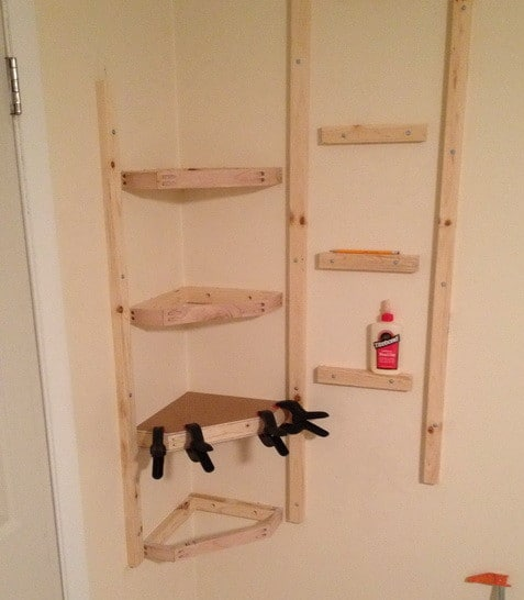 How To Build Simple Corner Wall Shelving Yourself_4