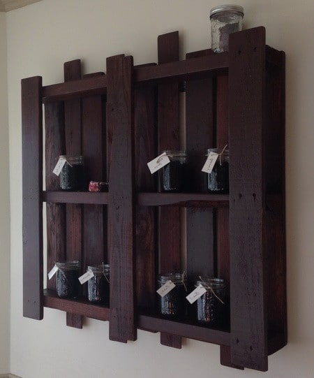 Pallet Herb Garden Shelf_2
