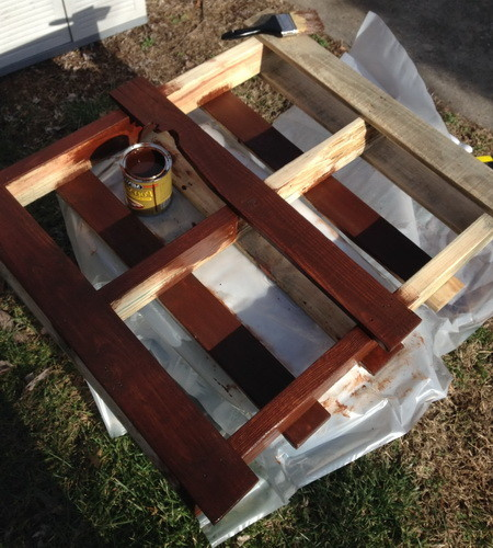 Pallet Herb Garden Shelf_3