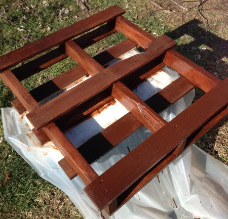 Pallet Herb Garden Shelf_4