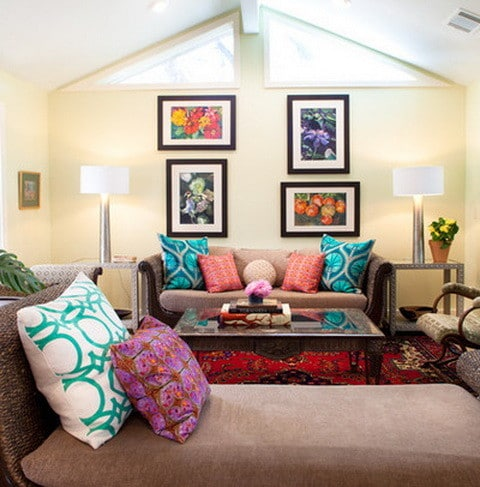 25 beautiful living room ideas on a budget - Pictures of decorated living rooms ...