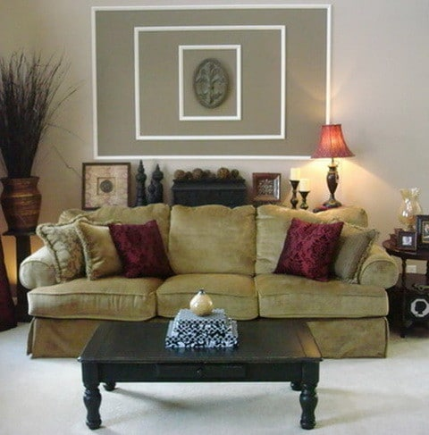 Living room wall decorating ideas on a budget for Living room design on a budget