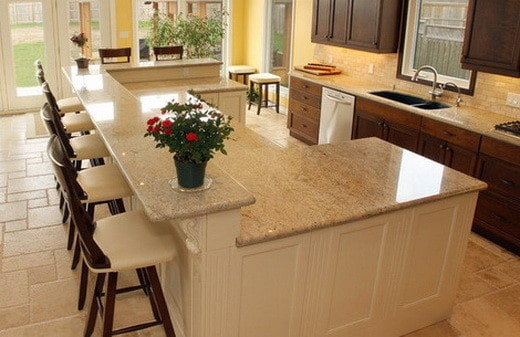 amazing large kitchen island designs | 38 Amazing Kitchen Island Ideas - Picture Ideas ...