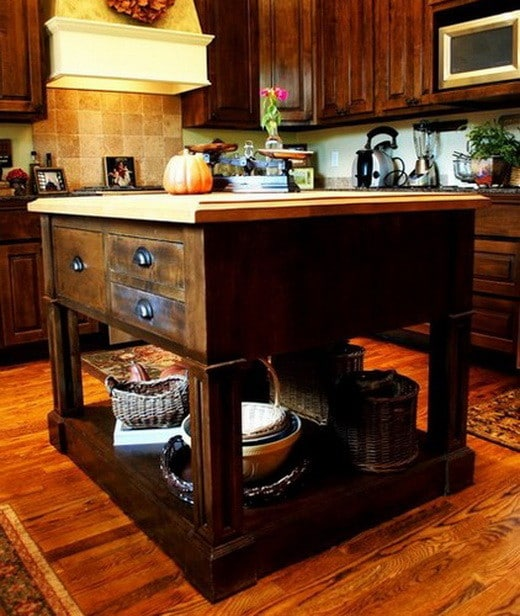 38 Great Kitchen Island Ideas_16