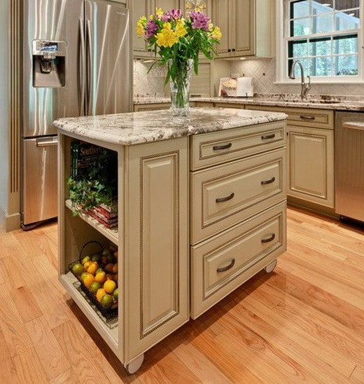 38 Great Kitchen Island Ideas_33