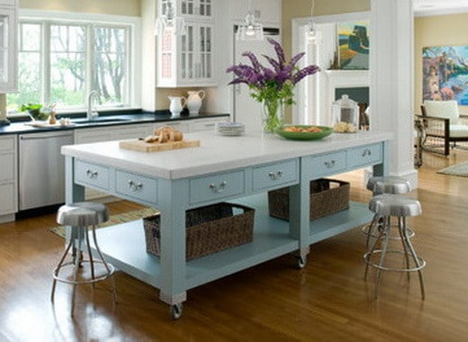 38 Great Kitchen Island Ideas_37