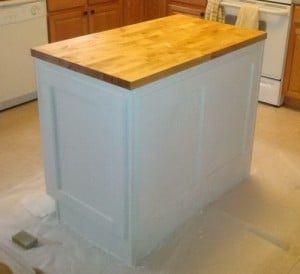 Do It Yourself Kitchen Island Installation 09