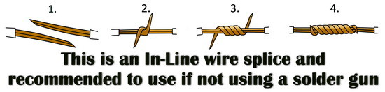 in line wire splice