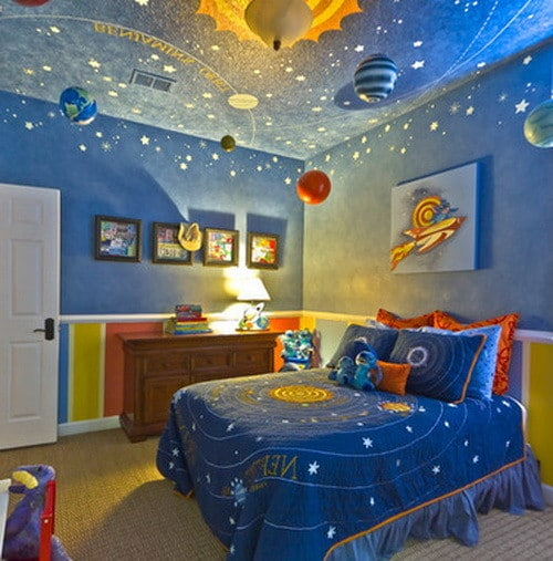50 Amazing Painted Ceiling Designs & Ideas