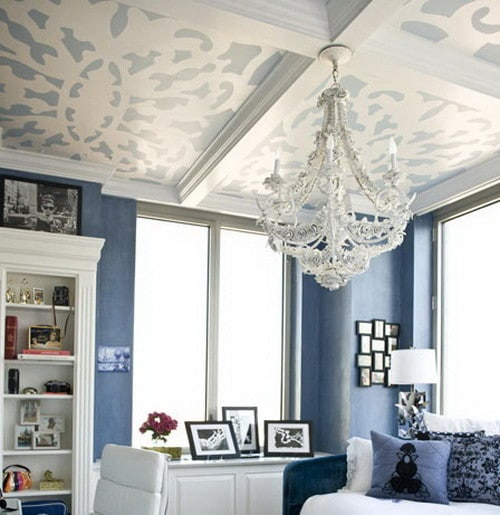 50-Ceiling-Paint-And-Design-Ideas_06 Painted Ceiling Designs For Homes on home stained glass, home painted car, home painted cabinets, home paint, home observation tower, home painted wood, home painted roof, home painted bathrooms,