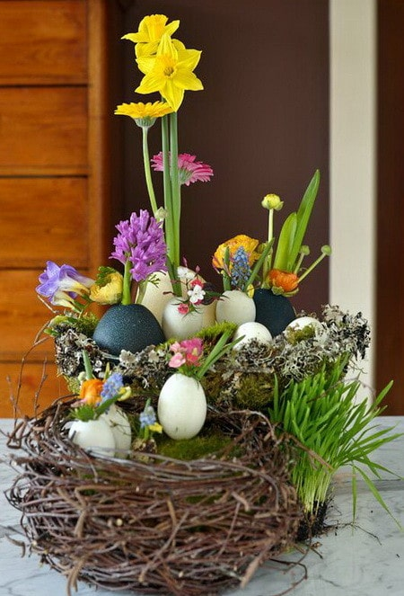 50 homemade easter decorating ideas diy decorations for How to make easter decorations for the home