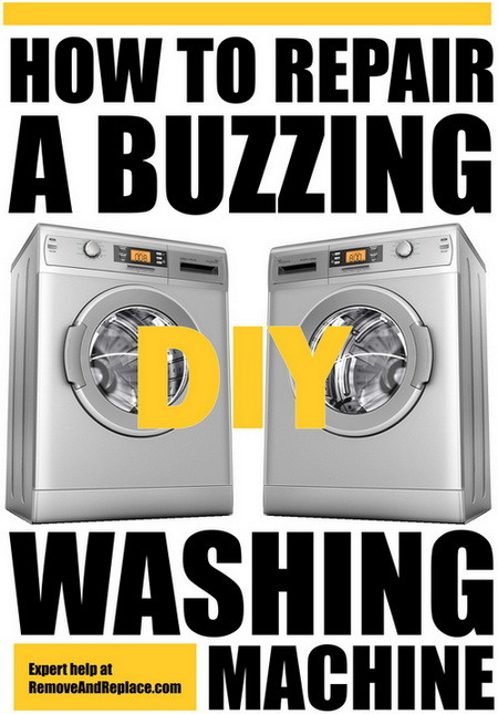 buzzing washer repair help