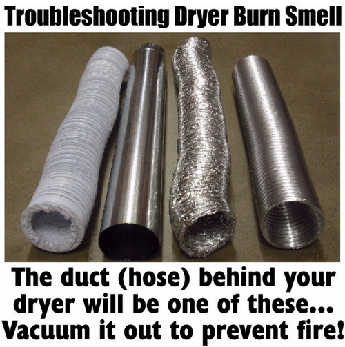Burning Smell From Clothes Dryer How To Fix