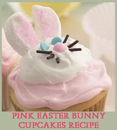 pink-easter-bunny-cupcakes