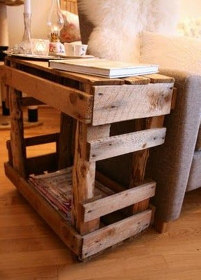 30 fantastic diy wooden pallet projects. Black Bedroom Furniture Sets. Home Design Ideas