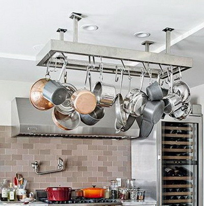 Kitchen pots and pans storage ideas_20