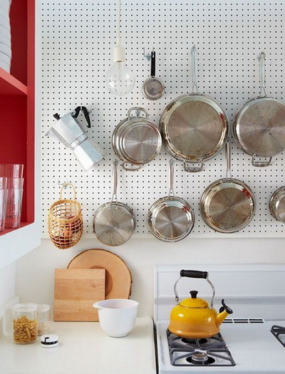 Kitchen pots and pans storage ideas_23