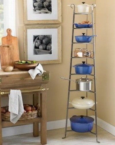 Kitchen pots and pans storage ideas_26