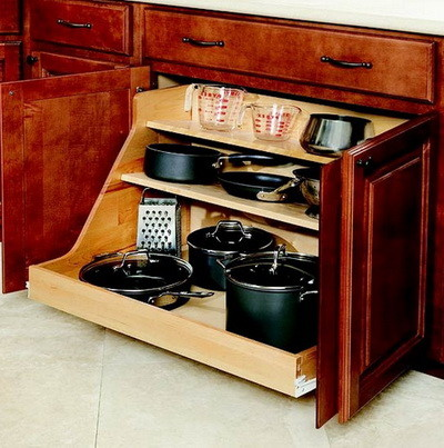 Kitchen pots and pans storage ideas_30