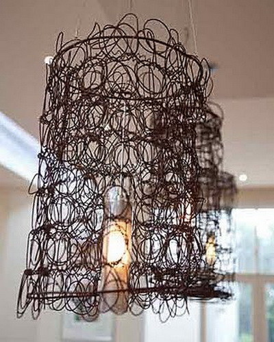 bed springs lamp shade