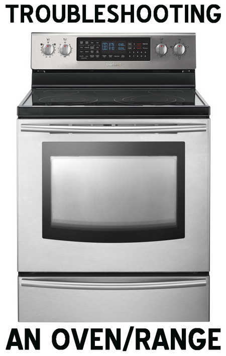 oven repair oven range makes clicking sound, power flickers, does not heat  at virtualis.co