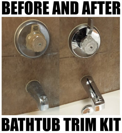How To Update A Bathroom With Low Cost Bathtub Shower Fixtures ...