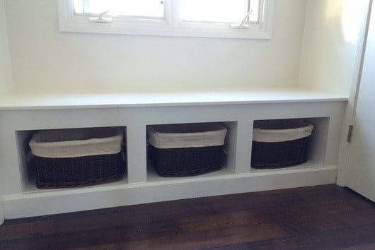 DIY Wooden Window Bench_02 & DIY Wooden Window Bench Seat With Storage | RemoveandReplace.com