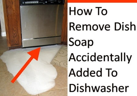 Dish Soap In Dishwasher