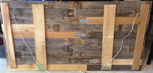 How To Make A Diy Headboard From Recycled Wood With Custom