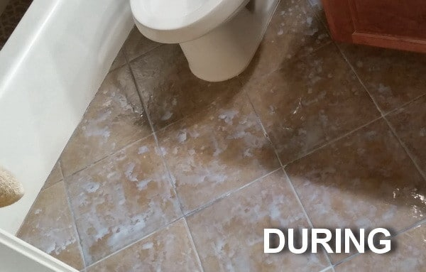 Bathroom Floor Tiles Sealing : How to seal and gloss tile grout in one step