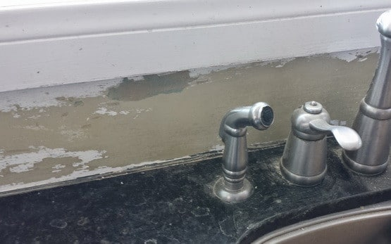 How To Remove Grout Adhesive From Kitchen Sink