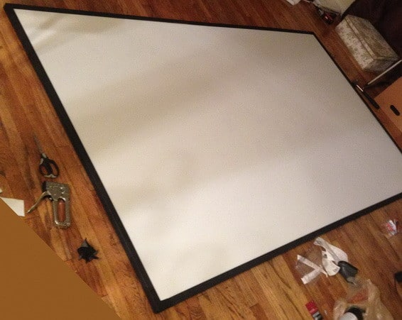 DIY PROJECTOR SCREEN_8