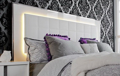LED Lighting Headboard Ideas_30
