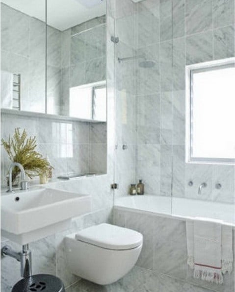 25 marble bathroom design ideas for remodel