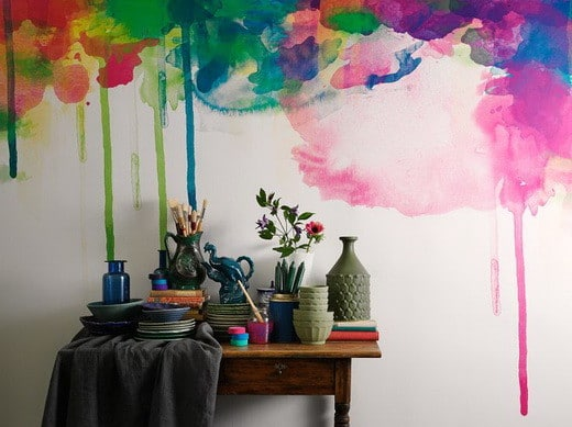 Painting Your Walls With Watercolors - 25 Ideas_01