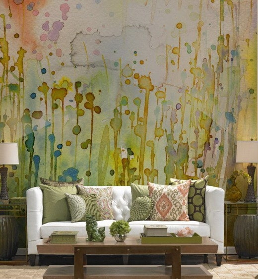 Painting Your Walls With Watercolors - 25 Ideas_06