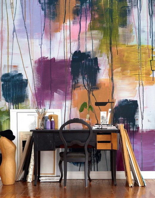 Painting Your Walls With Watercolors - 25 Ideas_07