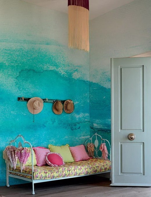 Painting Your Walls With Watercolors - 25 Ideas_19