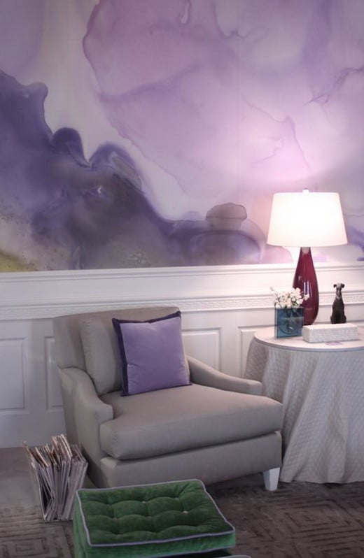 Diy Painting Walls: Painting Your Walls With Watercolors