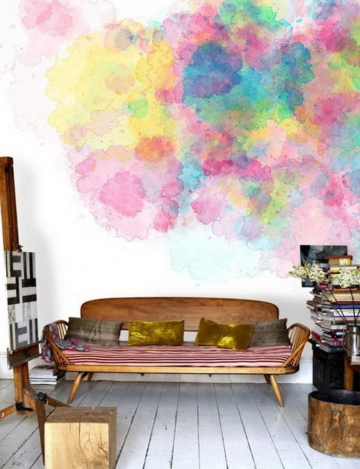 Painting Your Walls With Watercolors - 25 Ideas_22