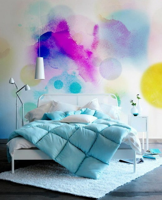 Painting Your Walls With Watercolors - 25 Ideas_23